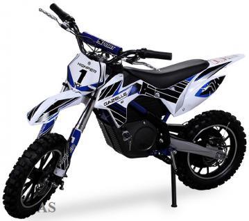 Allstars Dirtbike 500 Watt Gazelle Elektro CrossBike blau