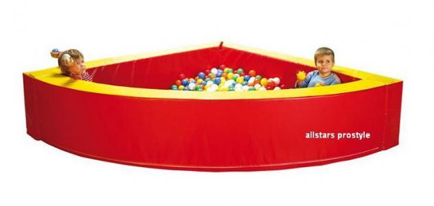 Bänfer Bällebad Bällepool Ballbad Pool Viertelkreis Maxi Therapie Therapiebad
