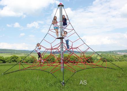 Huck Seilpyramide Spider 4 Kletterpyramide