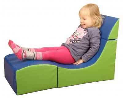Bänfer Kinder Klappsessel Liege Sessel Kindersessel Schaumstoffsessel
