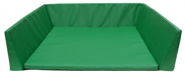 Bänfer Wickelauflage 80 x 80 x 6 Farbwahl genäht Wickelunterlage Schaumstoffunterlage - Vorschau 1