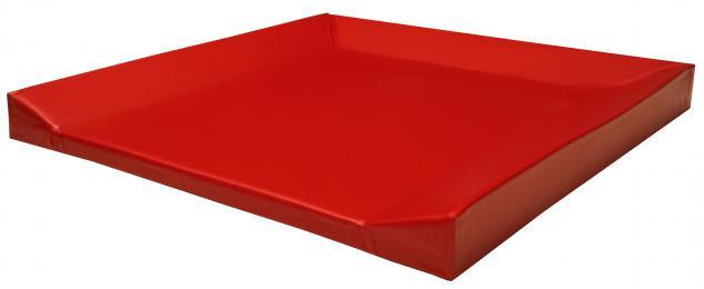 Bänfer Wickelauflage 80 x 80 x 6 Farbwahl genäht Wickelunterlage Schaumstoffunterlage - Vorschau 2