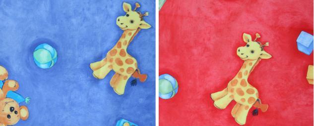 Bänfer Kindermöbel Kuschelmatratze Kinderliege Matratze 1, 2 x 1, 2 m Microfaser - Vorschau 3