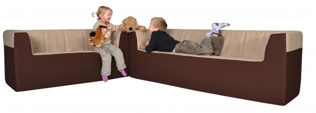 b nfer kinderm bel zweisitzer couch sofa maxi schaumstoff polyester kindersofa kaufen bei euro. Black Bedroom Furniture Sets. Home Design Ideas