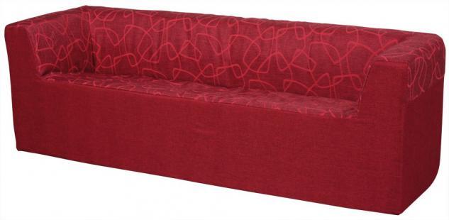Bänfer Kindermöbel Dreisitzer Couch Sofa MINI Schaumstoff Motivdruck Kindersofa