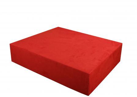 Bänfer MAXI Sofa Hocker 1150 x 1150 mm Couch Farbwahl Microfaser Motiv