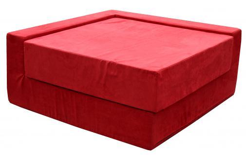 Bänfer MAXI Sofa Eckteil 1350 x 1350 mm Couch Farbwahl Microfaser Motiv