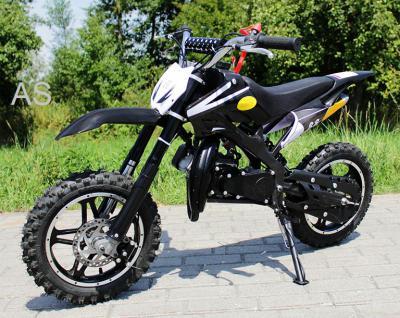 Allstars Dirtbike Pocketbike 49 ccm Delta schwarz