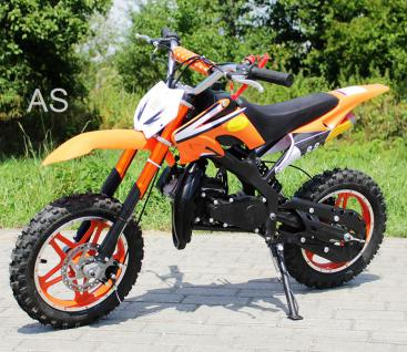 Allstars Dirtbike Pocketbike 49 ccm Delta orange
