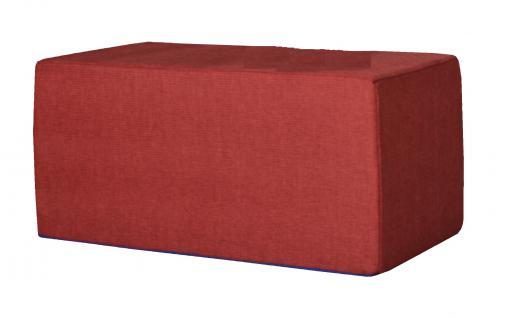 Bänfer Kindermöbel Tisch eckig Kindertisch MINI Schaumstoff Polyester Spieltisch - Vorschau 1