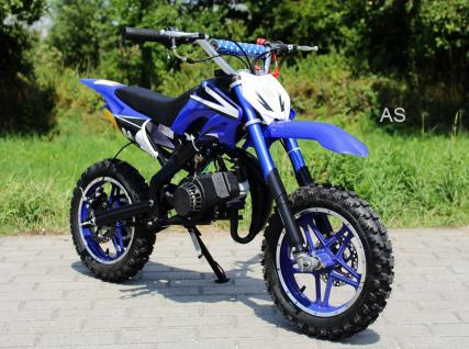 Allstars Dirtbike Pocketbike 49 ccm Delta blau - Vorschau 2
