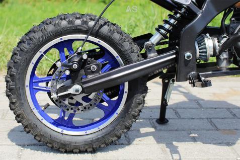 Allstars Dirtbike Pocketbike 49 ccm Delta blau - Vorschau 3