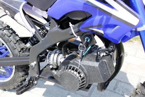 Allstars Dirtbike Pocketbike 49 ccm Delta blau - Vorschau 4