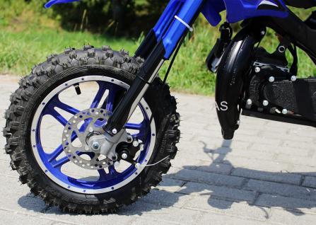 Allstars Dirtbike Pocketbike 49 ccm Delta blau - Vorschau 5