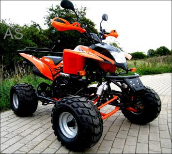 Allstars Quad Strassenquad 200cc orange Shineray Zweisitzer