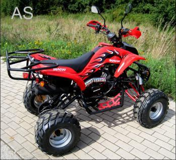 Allstars Quad Strassenquad 200cc rot Shineray Zweisitzer