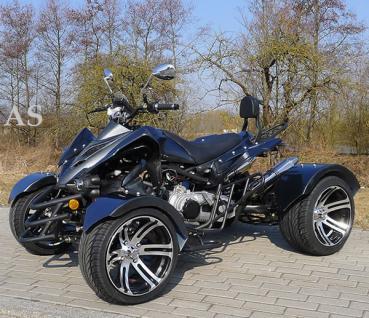 Allstars Quad 300cc Speedstar anthrazit-schwarz Straßenzulassung Zweisitzer