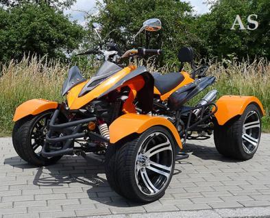 Allstars Quad 300cc Speedstar orange Straßenzulassung Zweisitzer