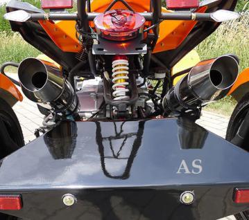 Allstars Quad 300cc Speedstar orange Straßenzulassung Zweisitzer - Vorschau 5