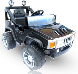 allstars hummer a30 jeep schwarz kinderauto elektrokinderauto gel ndewagen kaufen bei euro. Black Bedroom Furniture Sets. Home Design Ideas