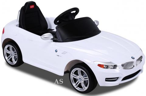 allstars kinderauto elektroauto bmw z4 weiss lizenz sportwagen mit fernbedienung kaufen bei. Black Bedroom Furniture Sets. Home Design Ideas
