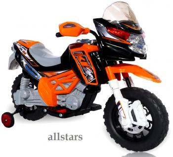 allstars E-Pocketbike Elektropocketbike Kindermotorrad orange E-Scooter E-Bike