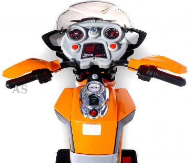 allstars E-Pocketbike Elektropocketbike Kindermotorrad orange E-Scooter E-Bike - Vorschau 3