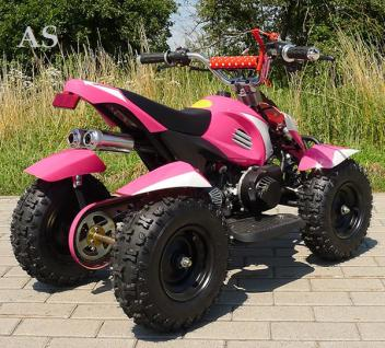 Allstars Pocketquad Cobra 49cc pink Miniquad - Vorschau 2