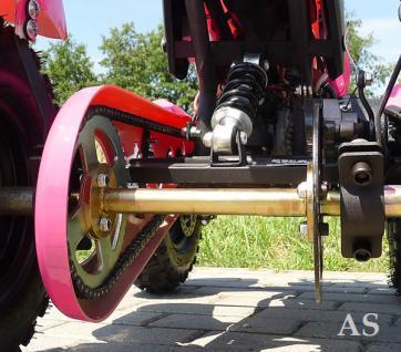 Allstars Pocketquad Cobra 49cc pink Miniquad - Vorschau 4