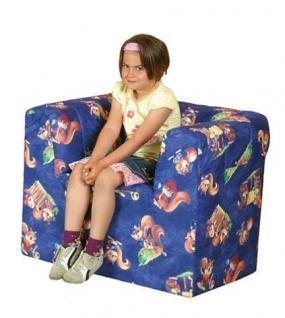 Bänfer Kindermöbel Sessel Kindersessel MINI Schaumstoff Bezugwahl Spielsessel - Vorschau 1