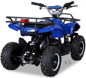 allstars Quad Elektroquad 800W Torino Kinderquad Pocketquad blau - Vorschau 3