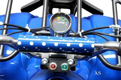 allstars Quad Elektroquad 800W Torino Kinderquad Pocketquad blau - Vorschau 5