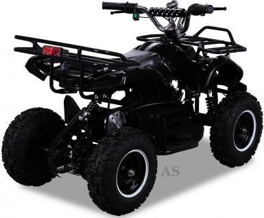 allstars Quad Elektroquad 800W Torino Kinderquad Pocketquad schwarz - Vorschau 3