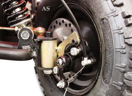 allstars Quad Elektroquad 800W Torino Kinderquad Pocketquad schwarz - Vorschau 5