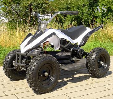 Allstars E-Quad Elektroquad Racer 800W weiss Kinderquad