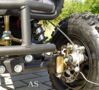 Allstars E-Quad Elektroquad Racer 800W weiss Kinderquad - Vorschau 4