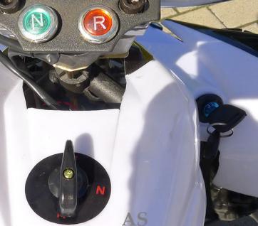 Allstars E-Quad Elektroquad Racer 800W weiss Kinderquad - Vorschau 5