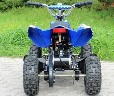 Allstars E-Quad Elektroquad Racer 800W blau-weiss Kinderquad - Vorschau 4