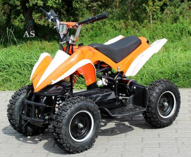 Allstars E-Quad Elektroquad Racer 800W orange-weiss Kinderquad