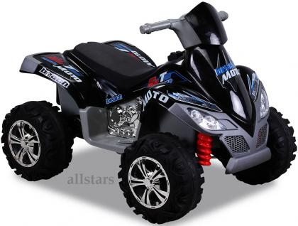 Allstars E-Kinderauto Elektro Quad Kinderquad Pocketbike Elektroquad KL-266 schwarz