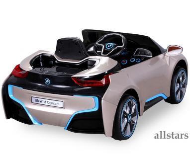 Allstars Kinder Elektroauto BMW I8 metallic-gold mit ...