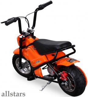 Allstars Mini Elektrobike E-Bike Elektro Motorrad 250W orange Pocketbike 2