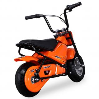 Allstars Mini Elektrobike E-Bike Elektro Motorrad 250W orange Pocketbike 3