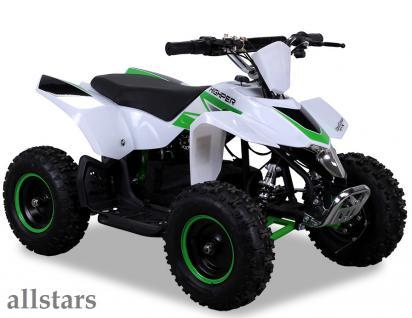 Allstars Elektroquad Miniquad Racer 1000 W Highper Kinderquad gruen Mini Quad