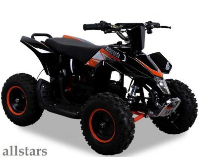 Allstars Elektroquad Miniquad Racer 1000 W Highper Kinderquad orange Mini Quad