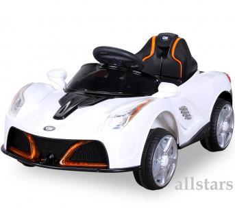 Allstars Kinderauto Kinderelektroauto Kinder-Elektroauto JE198 SUV weiss