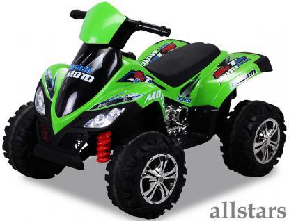Allstars E-Kinderauto Elektro Quad Kinderquad Pocketbike Elektroquad KL-266 gruen