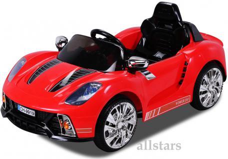 Allstars Kinderelektroauto Kinderauto Kinder-Elektroauto Roadster 9919 rot