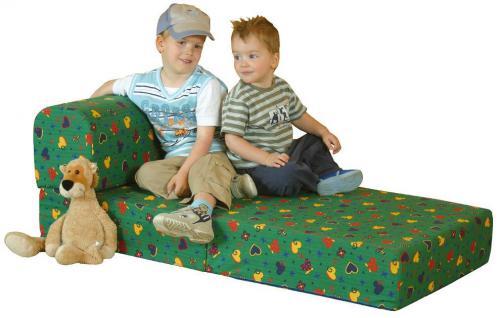 Bänfer Kinder Klappsessel MAXI Klappliege Liege Farbwahl Microfaser Motiv - Vorschau 2