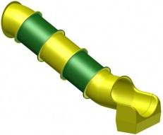 Beckmann Rutsche Röhrenrutsche L= 4, 3 m PH= 2, 0 m Modulröhrenrutsche